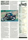 1990 'BIKE' HONDA VT500E ROAD TEST PAGE 5