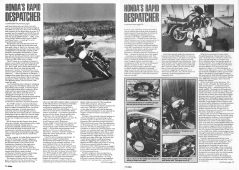 1990 'BIKE' HONDA VT500E ROAD TEST PAGE 3