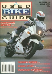 April 1990 'Used Bike' Mag readers review