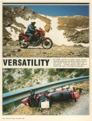 1996 'mOTORCYCLE SPORT' HONDA VT500E ROAD TEST